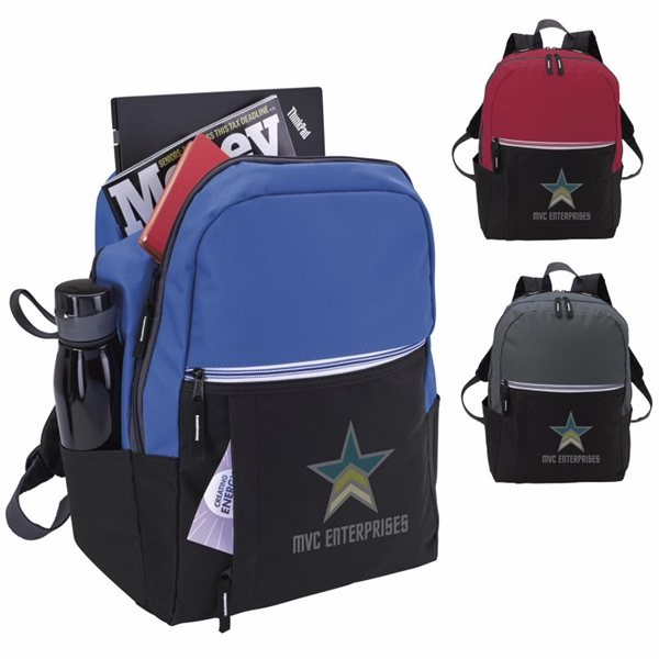 Promotional Zip - It - Up Computer Backpack