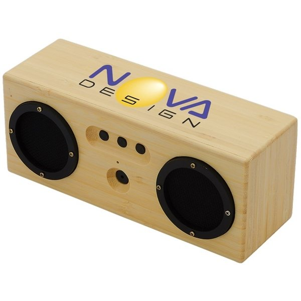 Promotional 6W Silas Bamboo Bluetooth(R) Speaker