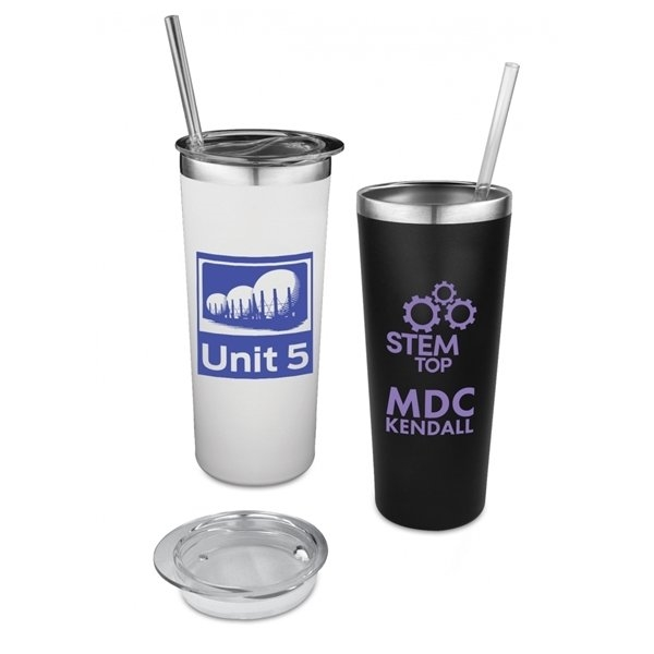 Promotional Glacier 22 Oz Insulated Stainless Steel Tumbler