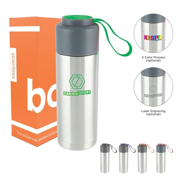 Promotional 18 oz Double Wall Stainless Bottle