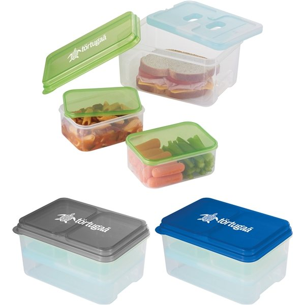 Promotional 3 Piece Lunch set with Ice Pack