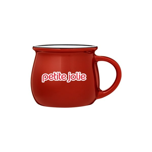 Promotional 10 oz Otis Stoneware Red Mug