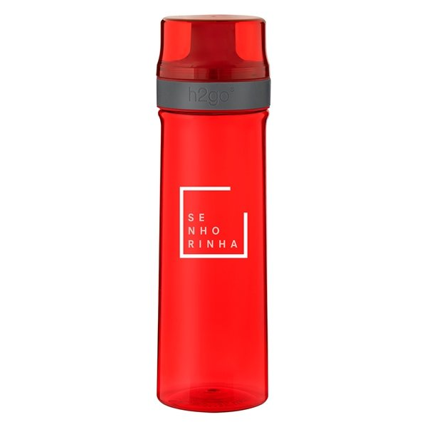 Promotional 25 oz H2go Axis - Red