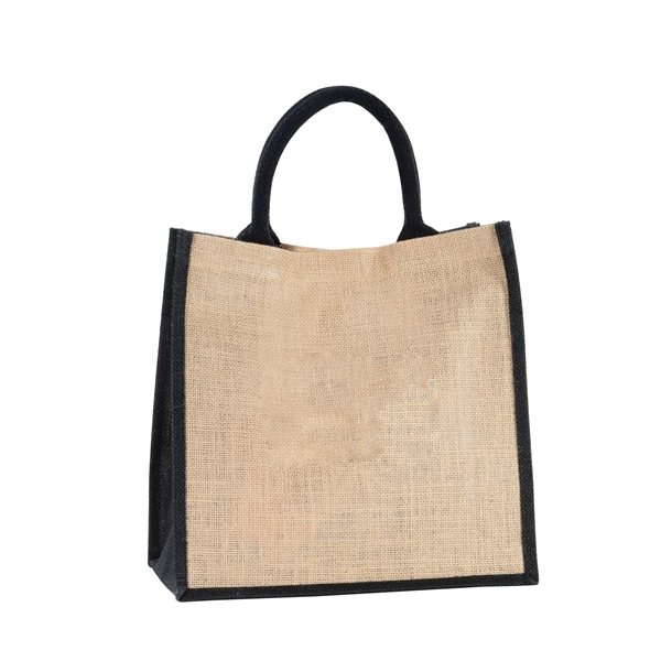 Promotional Natural Jute Shopper with Gusset