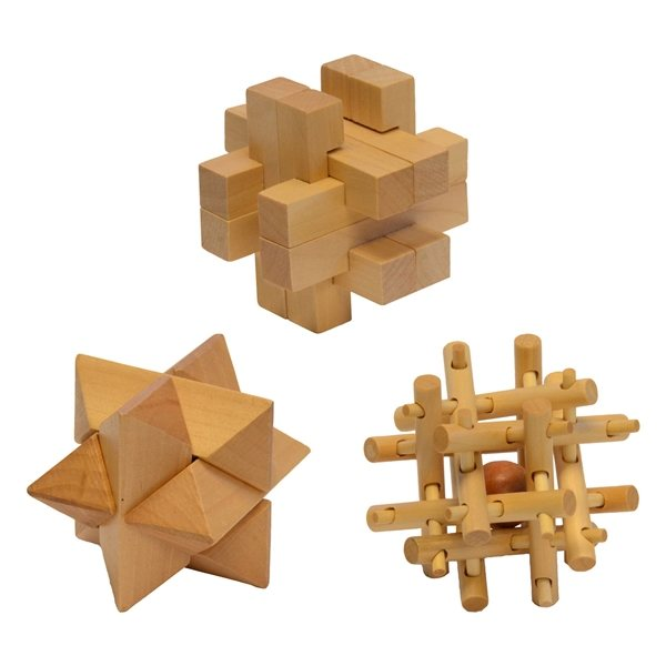 Promotional Fun On The Go Games -3- D Puzzles