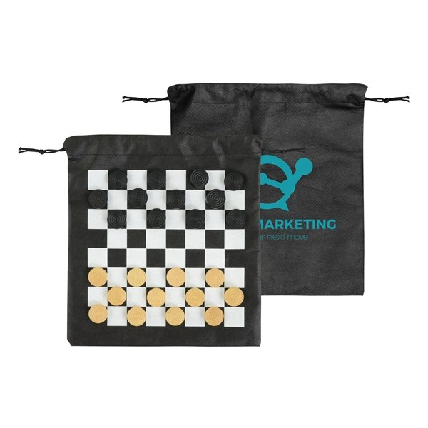 Promotional Fun On The Go Games - Checkers
