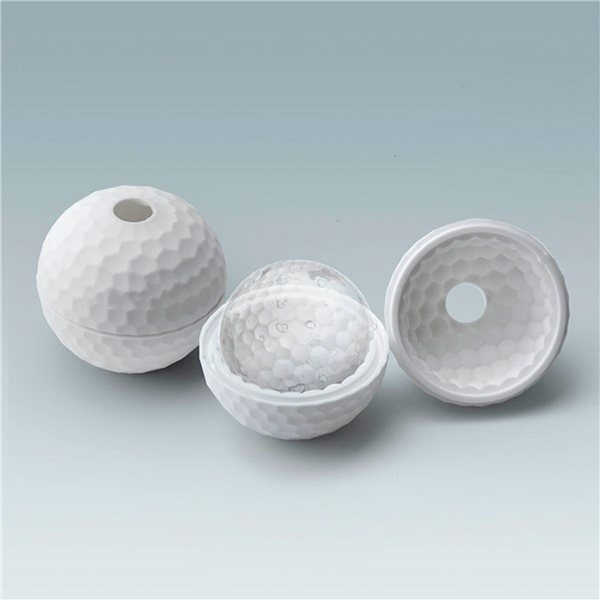 Promotional Silicone Golf Ball Shaped Ice Mold