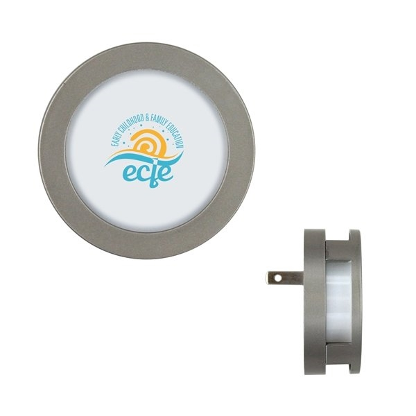 Promotional Metro Round LED Night Light