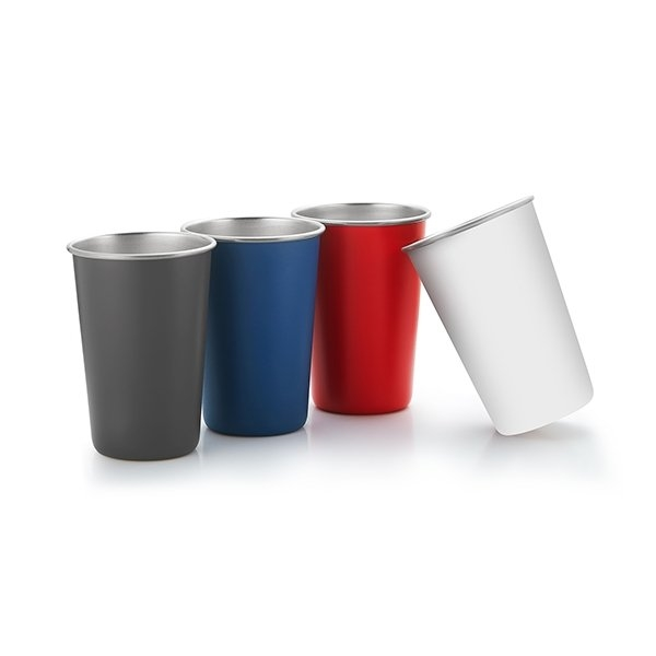 Promotional Taverna 16 oz Single Wall Stainless Steel Cup Tumbler