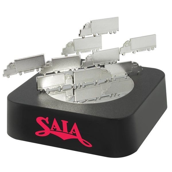 Promotional Truck Magnetic Sculpture Block