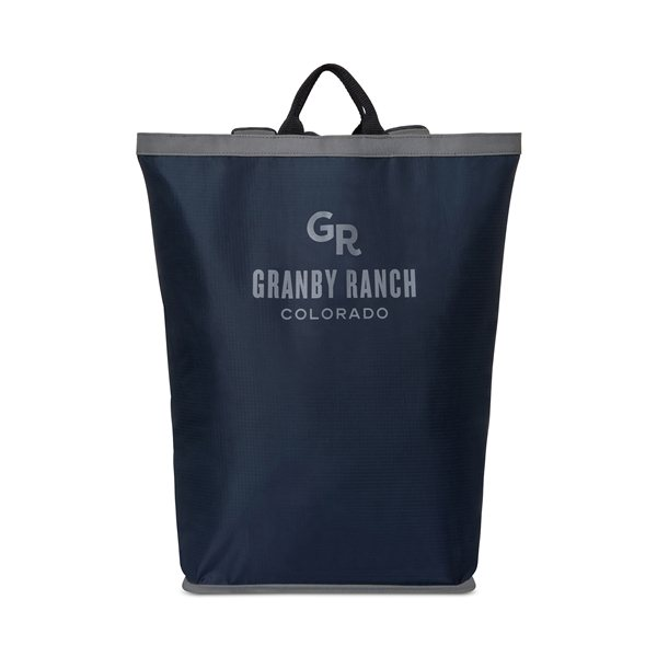 Promotional Camden Backpack - Navy Blue
