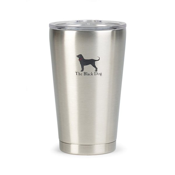 Promotional Aviana(TM) Vale Double Wall Stainless Pint - 16 oz - Stainless Steel