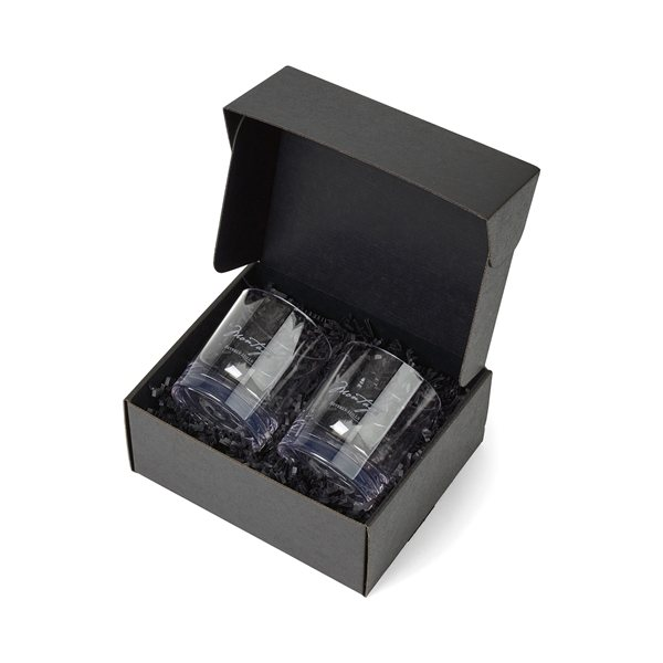 Promotional Soire Old Fashioned Gift Set - Clear