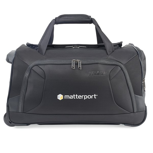 Promotional American Tourister(R) Zoom 22 Wheeled Duffel - Black