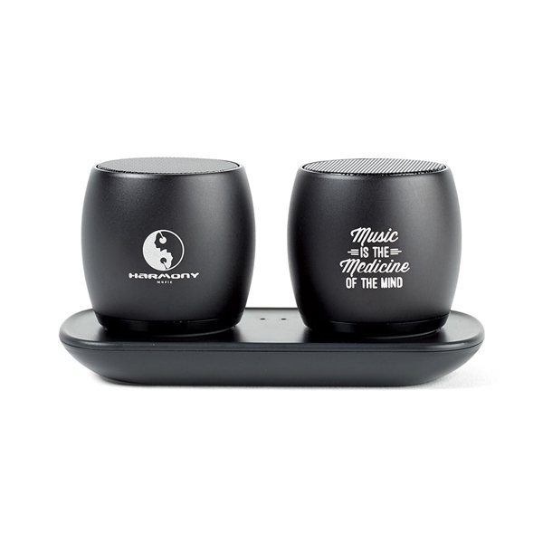 Promotional Paxton Bluetooth(R) Pairing Speakers - Black