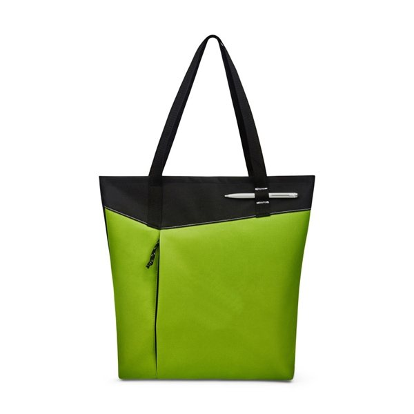 Promotional Venue Convention Tote - Apple Green