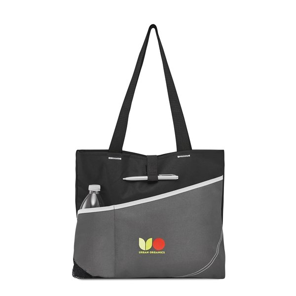 Promotional Recruit Convention Tote - Black