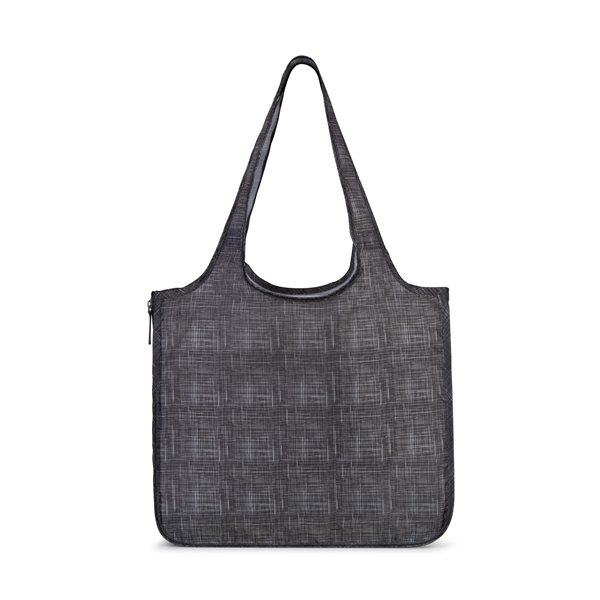 Promotional Riley Petite Patterned Tote - Charcoal Heather