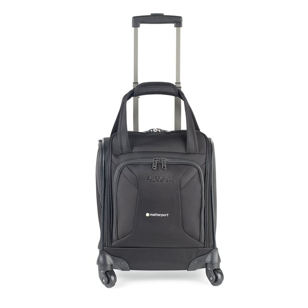 Promotional American Tourister(R) Zoom Spinner Underseat Carry - On - Black