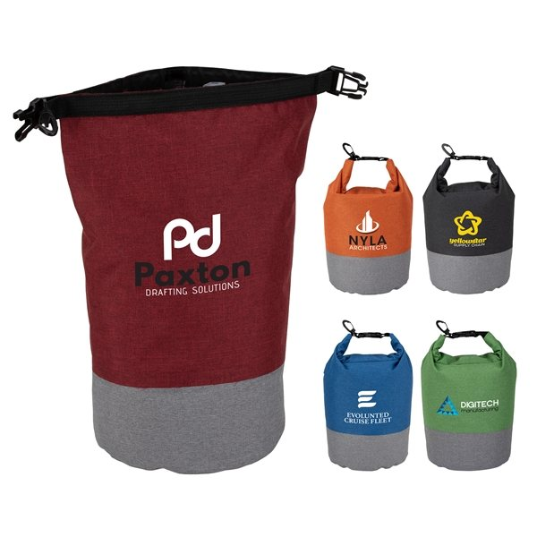Promotional Brighton 5L Waterproof Two - Tone Dry Bag