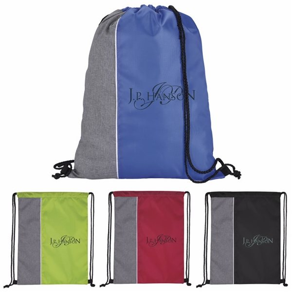 Promotional Standout Drawstring Backpack