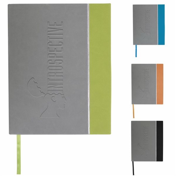 Promotional Metallic Line Journal