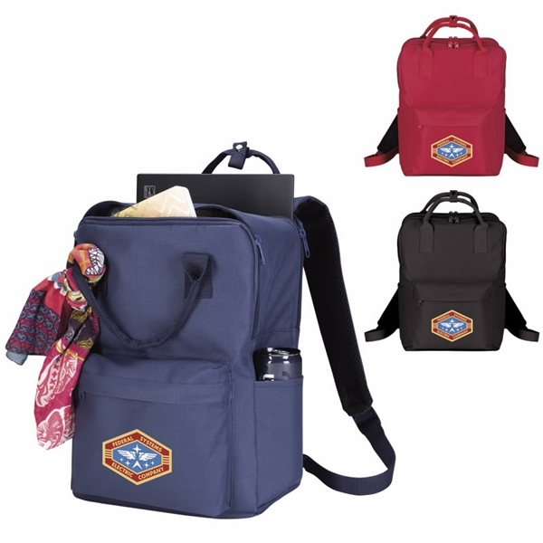 Promotional Preppy Computer Tote - Pack