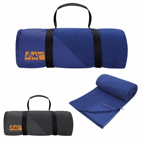 Promotional Blanket with Sleeping Bag