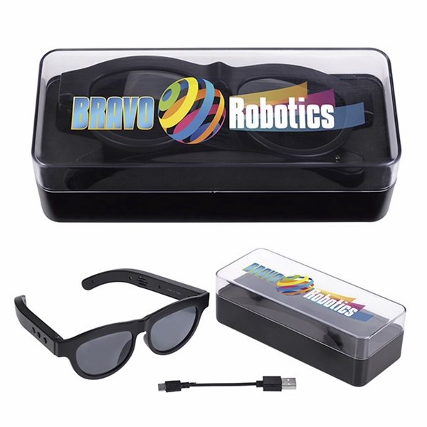Promotional Sunglasses with Bluetooth(R) Speaker