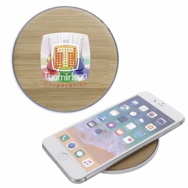 Promotional Natural Wireless Charging Pad