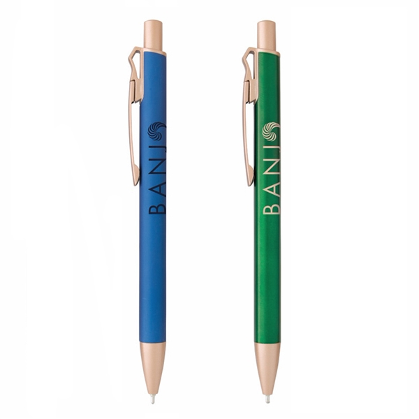 Promotional Aluminum Sandy Metal Pen