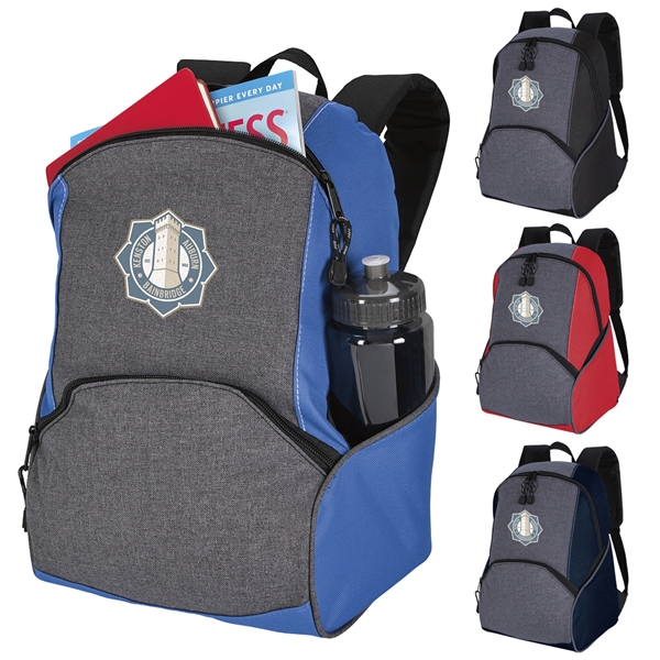 Promotional On The Move Two - Tone Backpack