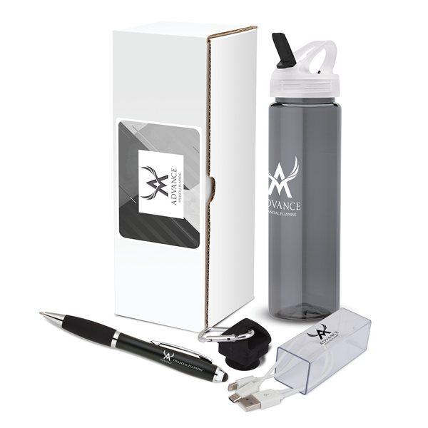 Promotional Salon 3- Piece Trade Show Gift Set