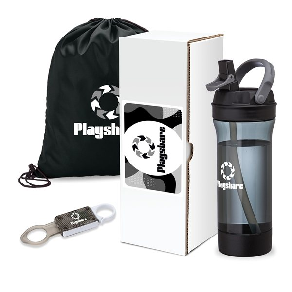 Promotional Workout 3- Piece Fitness Gift Set