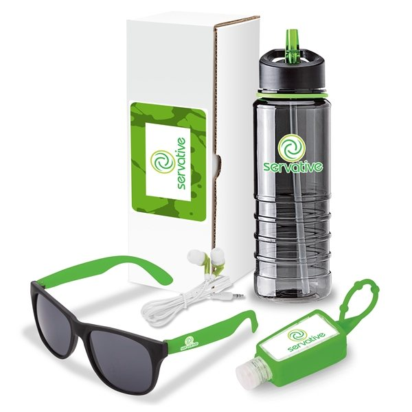 Promotional Olympic 4- Piece Fitness Gift Set