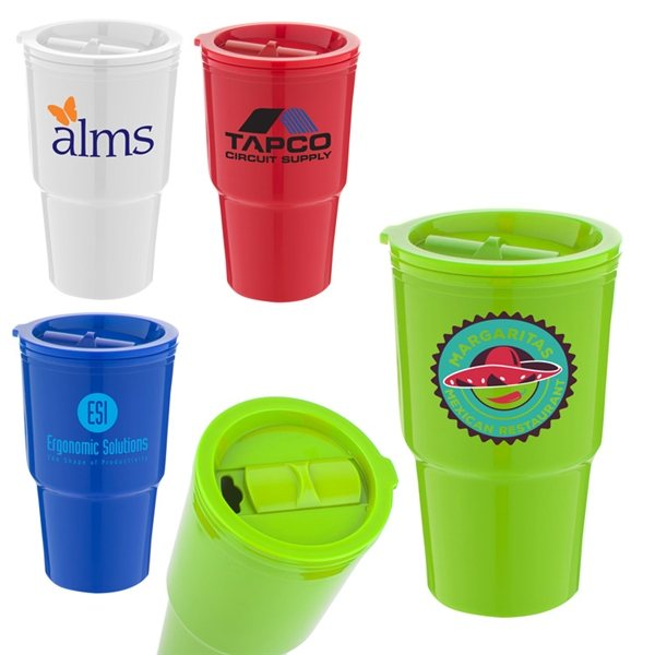 Promotional Brighton Beach Tumbler - 16 oz