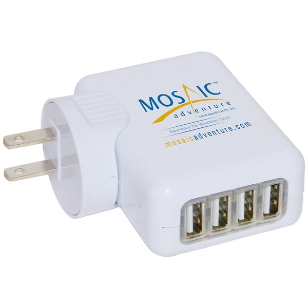 Promotional 4 Port USB Charger Hub