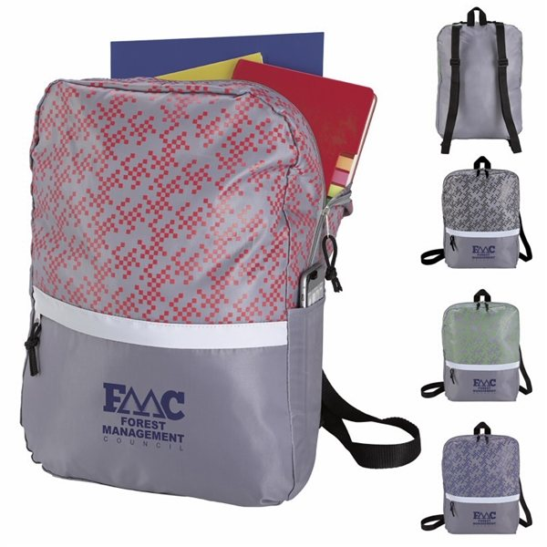 Promotional Connect The Dots Lightweight Backpack