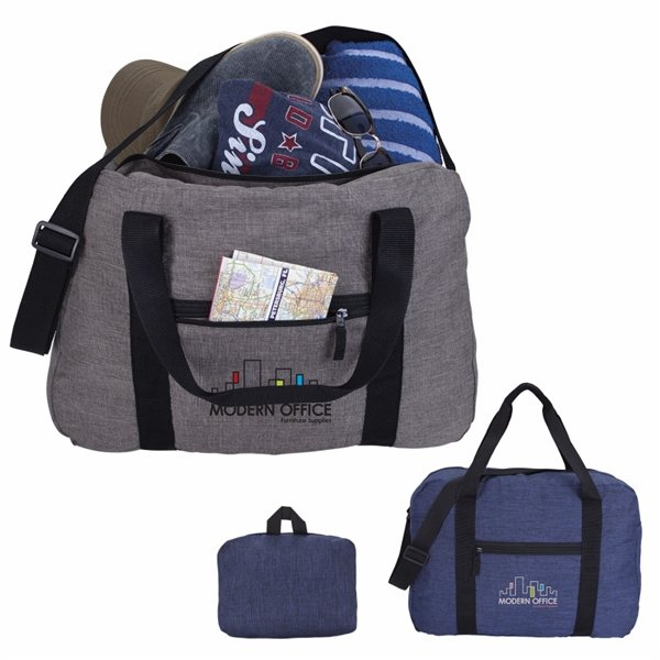 Promotional 300D Polyester Packable Duffel