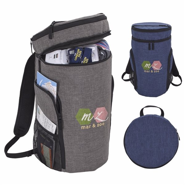 Promotional Packable Top Load Backpack
