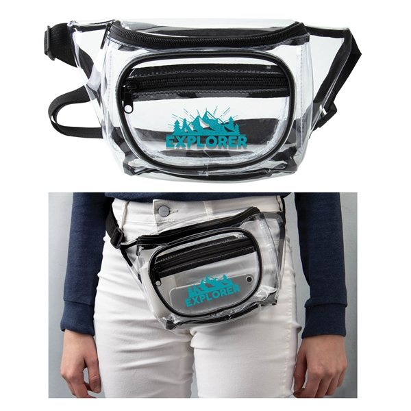 Promotional Clear Stadium Fanny Pack