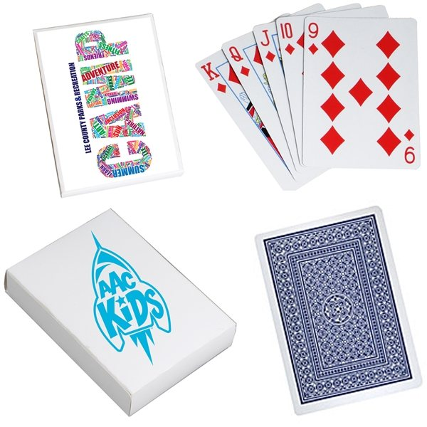 Promotional Playing Cards with Custom Box
