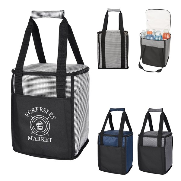 Promotional Hunter Houndstooth Cooler Bag