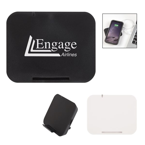 Promotional Phone Fuel Wireless Charging Pad Stand