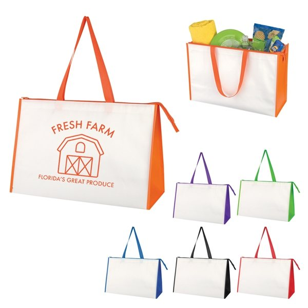 Promotional Expo Laminated Non - Woven Tote Bag