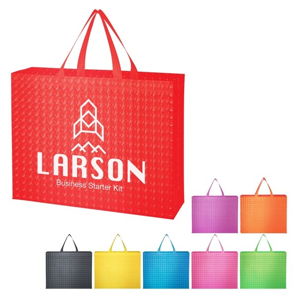 Promotional Illusion Laminated Non - Woven Tote Bag