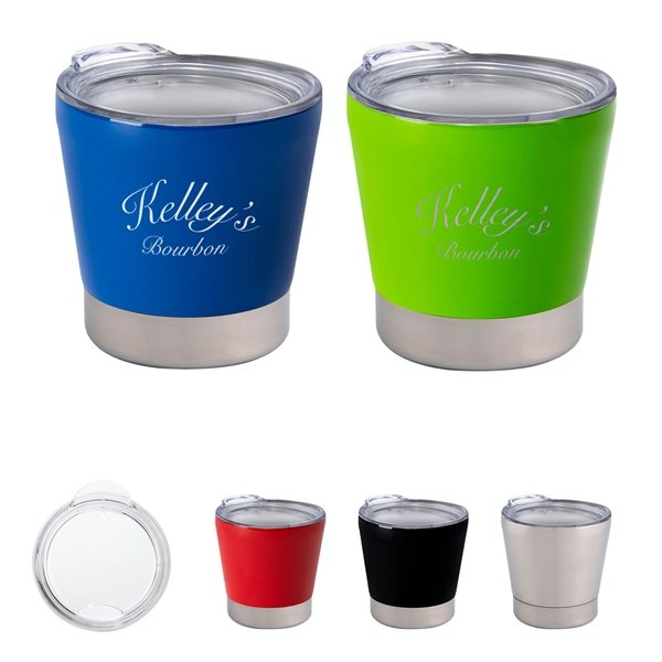 Promotional 8 oz Toddy Stainless Steel Tumbler