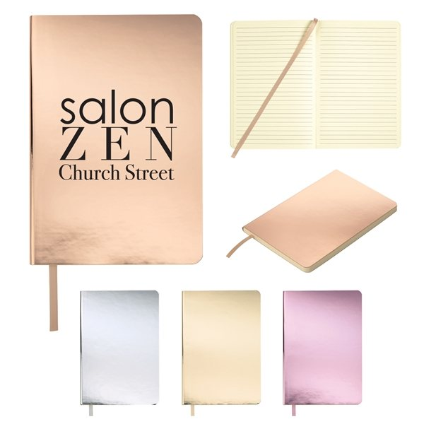 Promotional Reflections Metallic Notebook