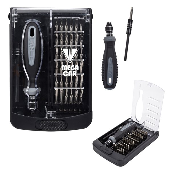 Promotional 38- In -1 Fix All Screwdriver Set