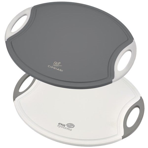 Promotional Prime Chef(TM) 12 Oval Cutting Board